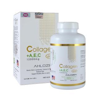 Viên Collagen AEC Gold 12000mg Ahlozen Cao Cấp Từ Mỹ thumbnail