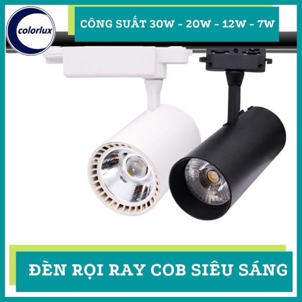 Bảng giá Đèn Rọi Ray COB 7W 12W 20W 30W Colorlux Cao Cấp Siêu Sáng Trang Trí Shop, Rọi Tranh, Bể Cá