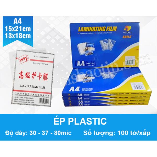 Mua MÀNG ÉP PLASTIC- KHỔ A4- 80MIC