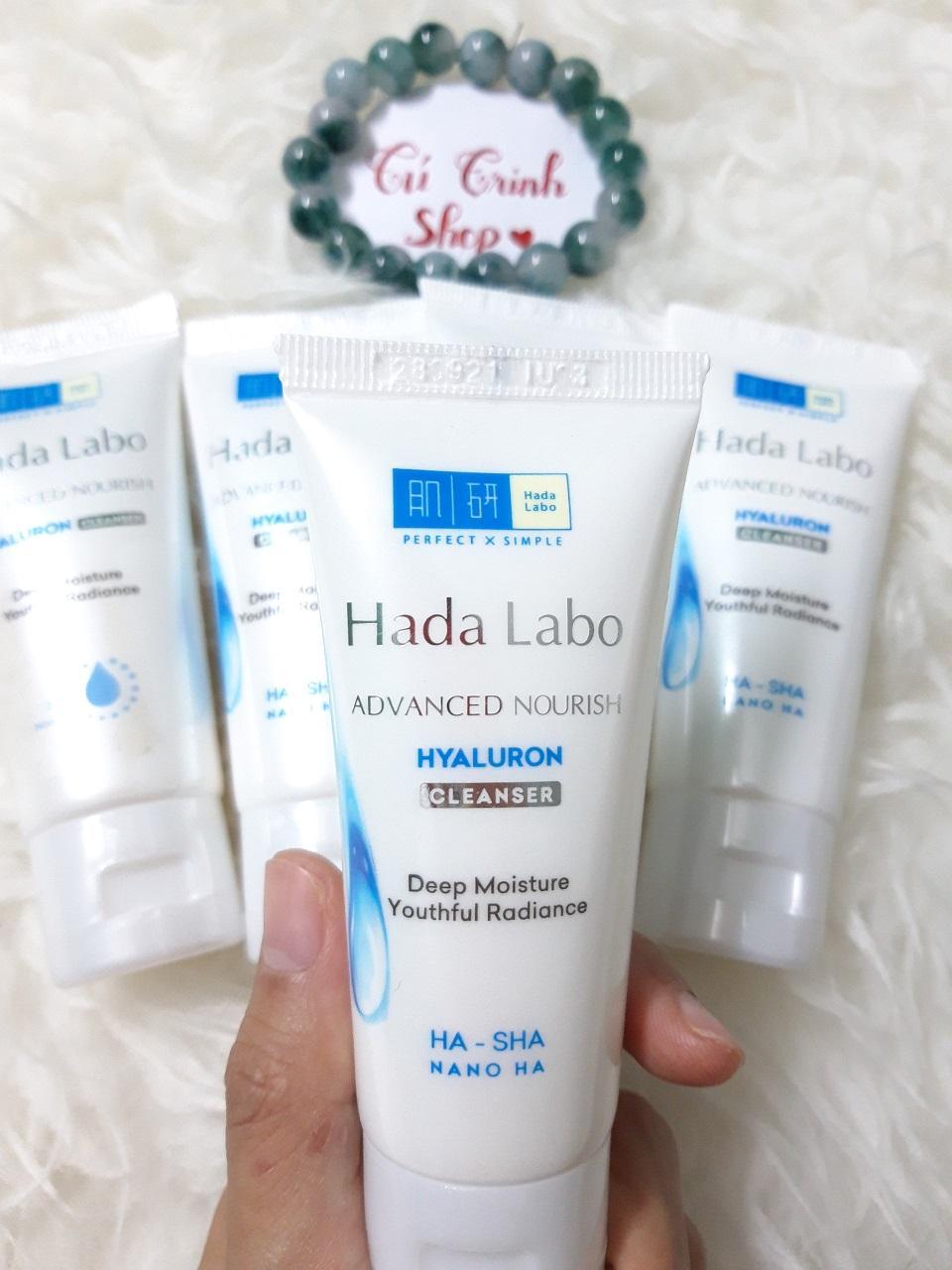 (HÀNG TẶNG ) Combo 3 tuýp Sửa rửa mặt Hada Labo Advanced Nourish 25g