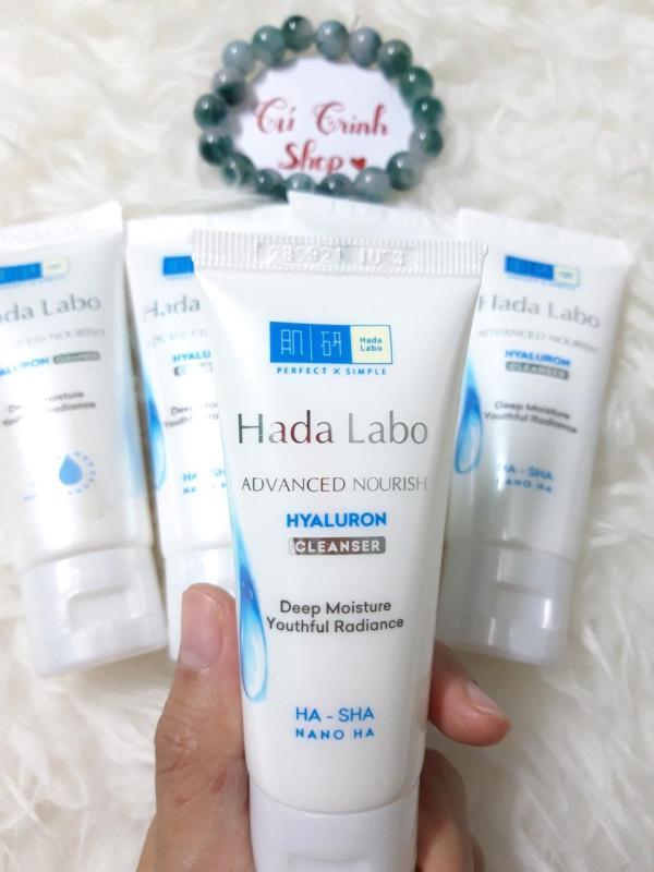 (HÀNG TẶNG ) Combo 3 tuýp  Sửa rửa mặt Hada Labo Advanced Nourish 25g nhập khẩu