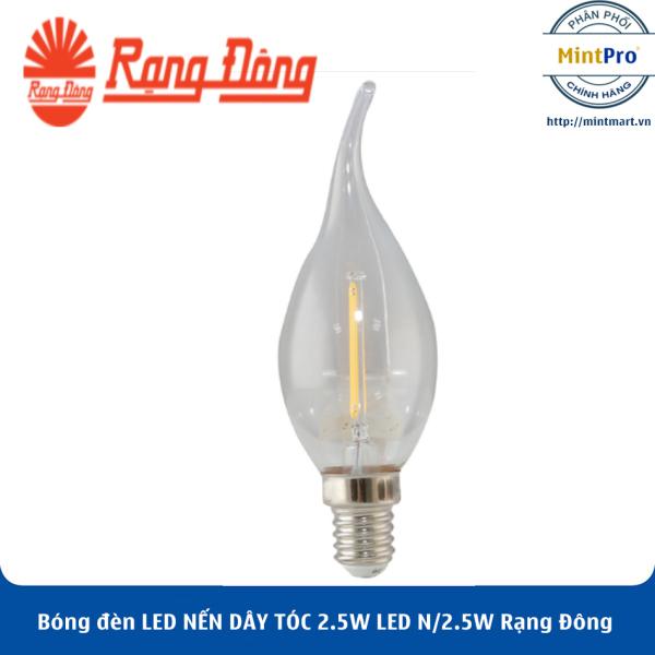 Bóng đèn LED NẾN DÂY TÓC 2.5W LED N/2.5W Rạng Đông - Hàng Chính Hãng
