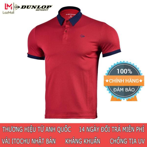 DUNLOP - Áo Tennis nam Dunlop DATES9091-1C Hàng chính hãng Thương hiệu từ Anh Quốc Đổi trả miễn phí