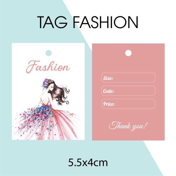 Mua 100 cái Tag quần áo, Mác quần áo, Tag giấy, Mác Fashion