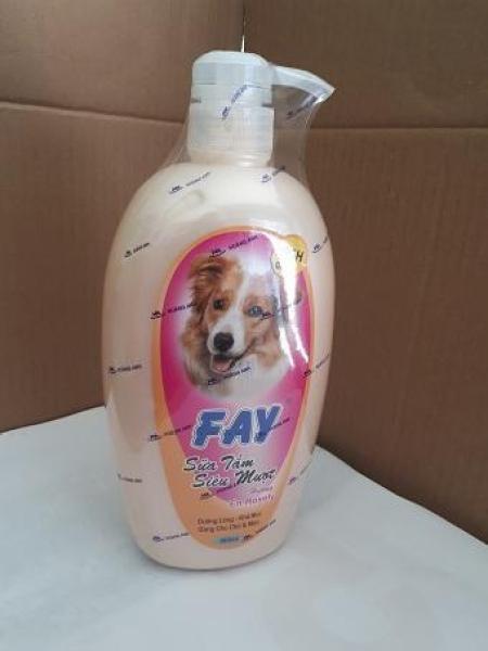 Sữa Tắm Cho Chó Fay Siêu Mượt - hương En-Rosely - 800ml
