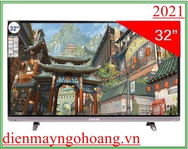 Bảng giá Smart Tivi Darling 32 inch HD Kết nối Internet Wifi Model 32HD966S