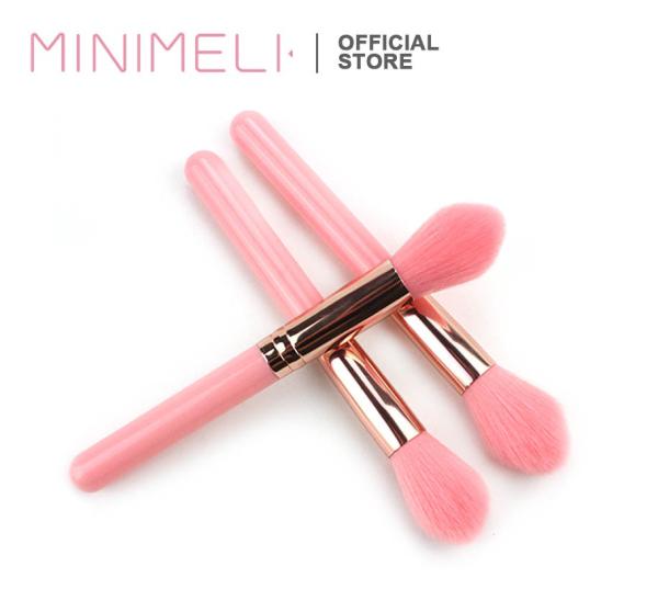 MINIMELI 1 CÁI Cọ Trang điểm Công cụ làm đẹp má hồng bằng nhựa Highlighter