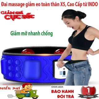 Nơi Bán Đai Massage Giảm Béo TPHCM, Máy Matxa Bụng, Cách Massage Cổ. Đai Massage Toàn Thân X5 -Giảm cân hoàn hảo 360 độ, Giảm Mỡ Nhanh Chóng, Hiệu Quả. BH UY TÍN 1 đổi 1 thumbnail
