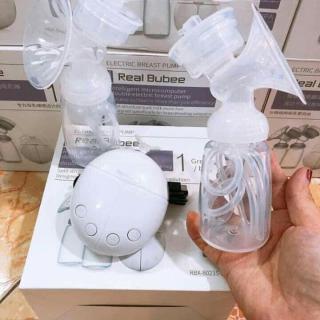 máy văt sữa điện đôi máy kích sữa mẹ tốt hai bình realbubee chuẩn quốc tế ,hút sữa mạnh không gây đau rát chế độ masage cực thích giúp mẹ thoát khỏi cơn tắc tia sữa thumbnail