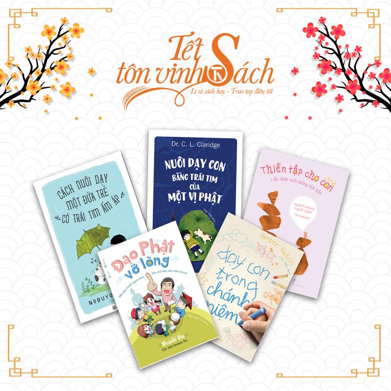 [TẾT SÁCH] - Bộ sách nuôi dưỡng tâm hồn cho con - THÁI HÀ BOOKS