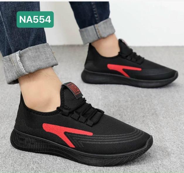 Giày thể thao nam Sport WWB viền đỏ thoáng khí siêu đẹp lạ rẻ - Sudoo giá rẻ