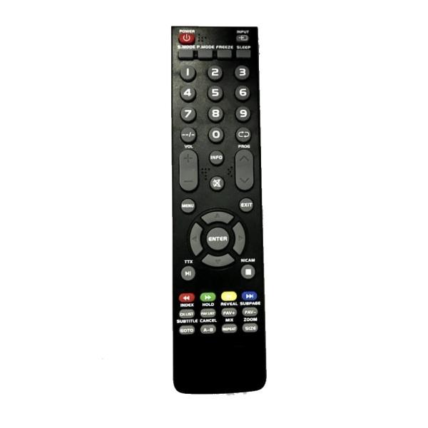 Bảng giá Remote điều khiển tivi ASANZO LCD nâu