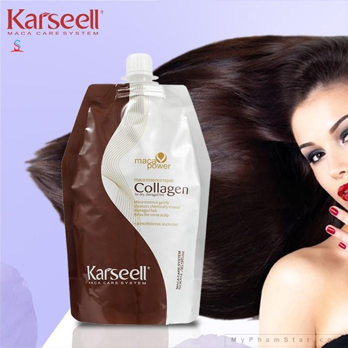 Dầu ủ tóc Colagen Karsell dưỡng tóc mềm mượt- phục hồi tóc chuyên sâu nhập khẩu