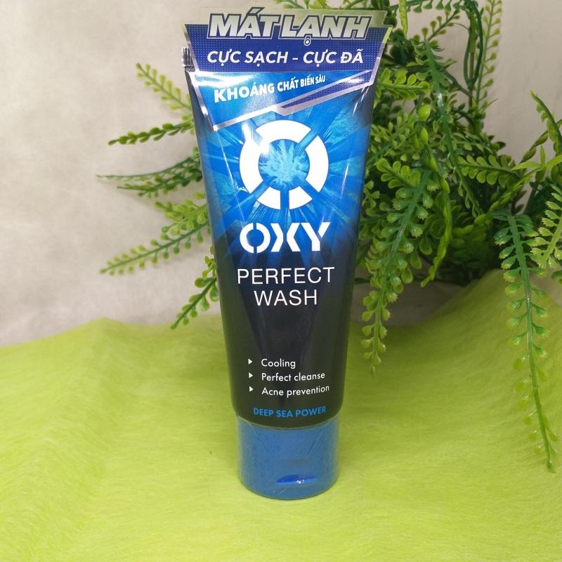 Rửa mặt  sạch bã nhờn ngừa khuẩn mụn cho nam Perfect Wash 100g
