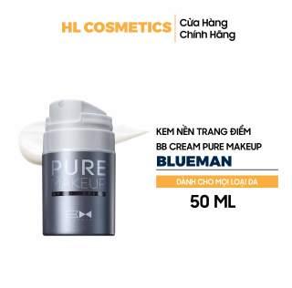 Kem BB Cream Nam Pure Makeup BLUEMAN Chính Hãng Làm Căng Mịn & Nâng Tone Da 50ml ZL77 thumbnail