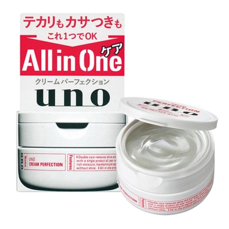 Kem dưỡng da cho nam giới Shiseido Uno Perfection 5in1  90g - Nhật Bản