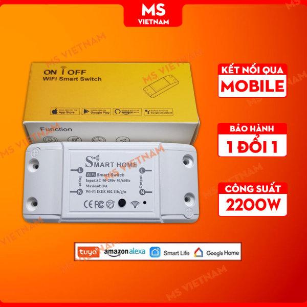 Công tắc thông minh Tuya Smart điều khiển qua App Wifi 3G 4G - MS Vietnam