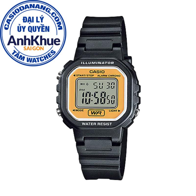 Đồng hồ nữ dây nhựa Casio Standard Anh Khuê LA-20WH-9ADF