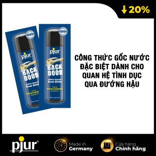 Combo 2 Chất bôi trơn gốc nước cho quan hệ đường hậu pjur BACKDOOR Moisturising Anal Glide 2ml thumbnail