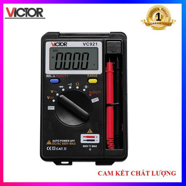Đồng hồ đo điện vạn năng kỹ thuật số VICTOR VC921 - Hàng chuẩn
