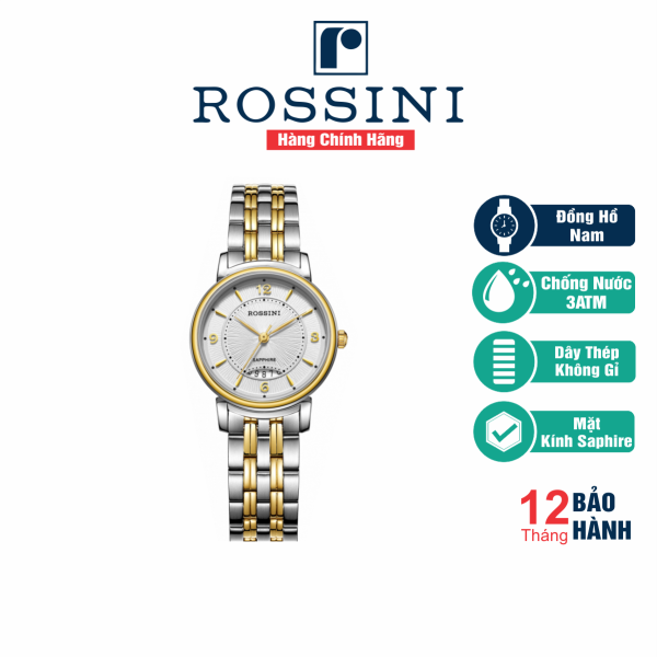 Đồng Hồ Nữ Cao Cấp Rossini - 5804T01C - Hàng Chính Hãng bán chạy