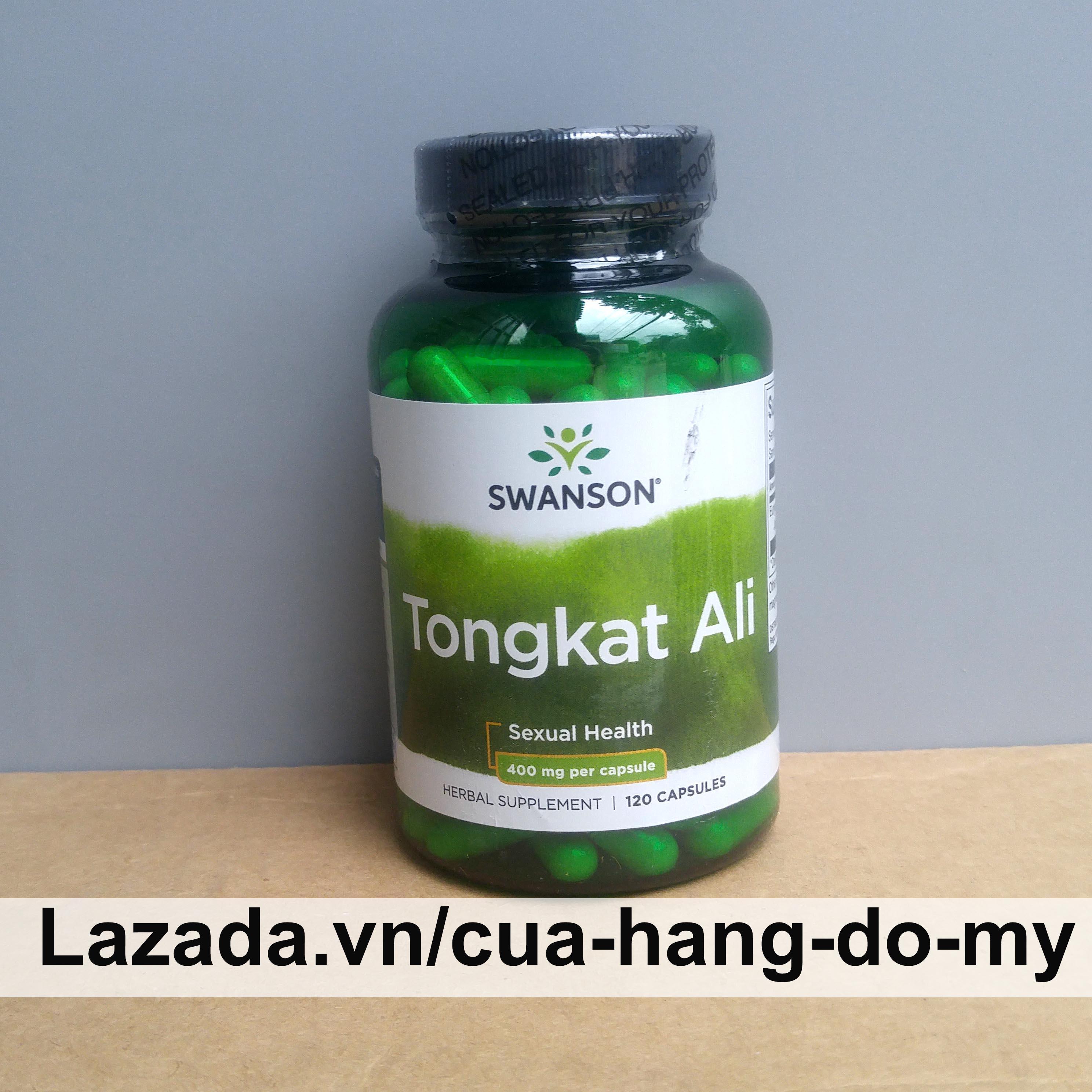 Viên uống Tongkat Ali Malaysia Swanson Passion 400mg 120 Viên cao cấp