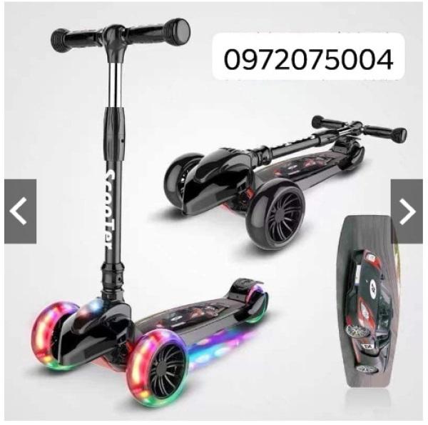 Mua Xe trượt Scooter 3 bánh siêu chắc khỏe phát sáng size đại cho bé