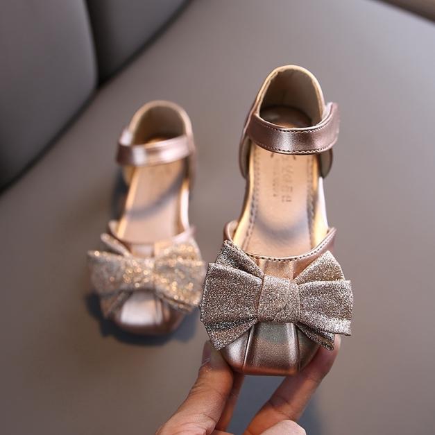 Giày búp bê đính nơ xinh xắn thời trang cho bé gái giá rẻ