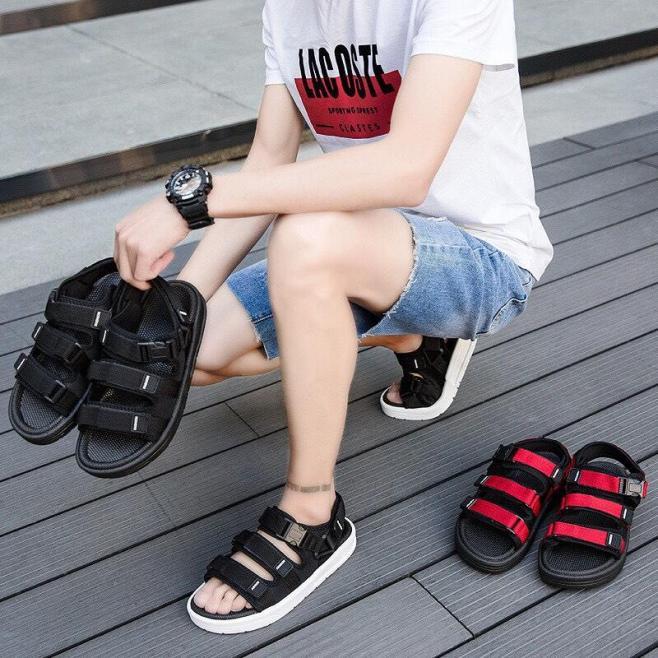 Dép sandal nam quai ngang mẫu mới 2019 siêu đẹp giá rẻ