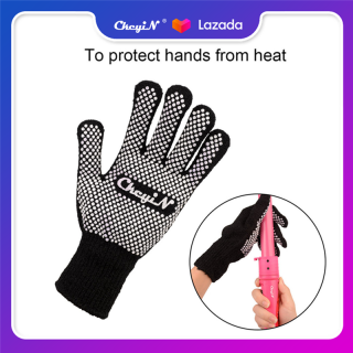 Găng tay chịu nhiệt độ cao Ckeyin chất liệu bông cotton cao cấp dùng trong làm tóc uốn xoăn HS126 - INTL thumbnail