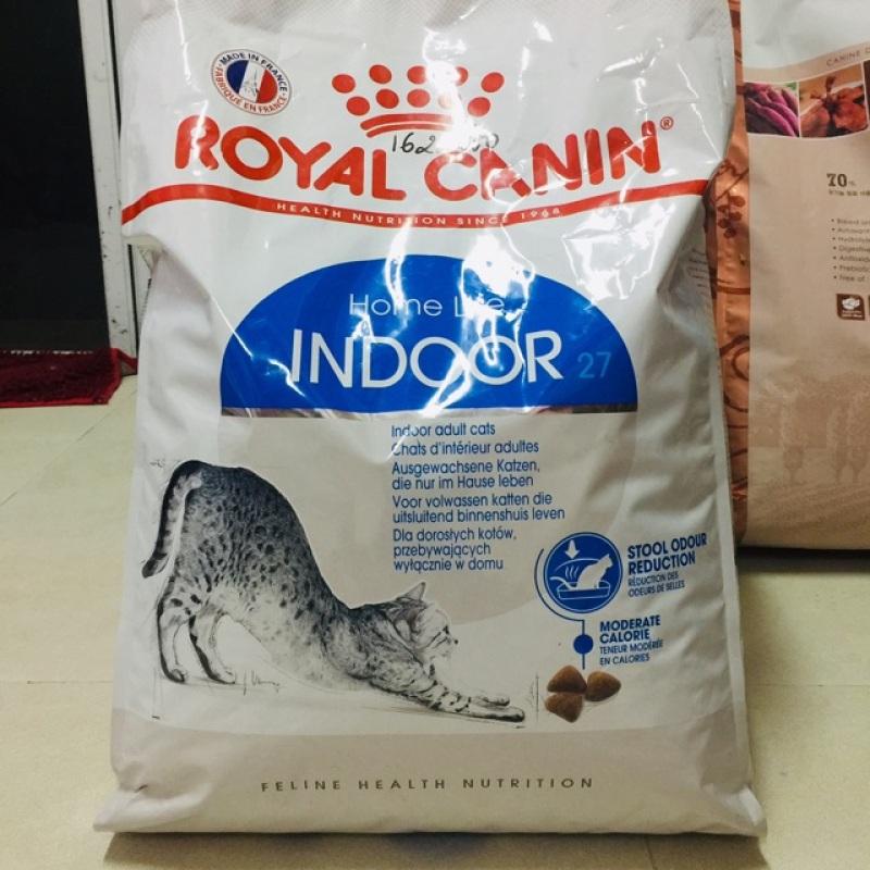 10kg Thức ăn cho mèo trưởng thành Royal Canin indoor, chất lượng đảm bảo an toàn đến sức khỏe người sử dụng, cam kết hàng đúng mô tả