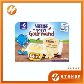 Váng Sữa Nestle Vị Vani Nội Địa Pháp Thơm Ngon Bổ Dưỡng Cho Bé Từ 6 Tháng Vỉ 6 Hộp x 60Gram thumbnail