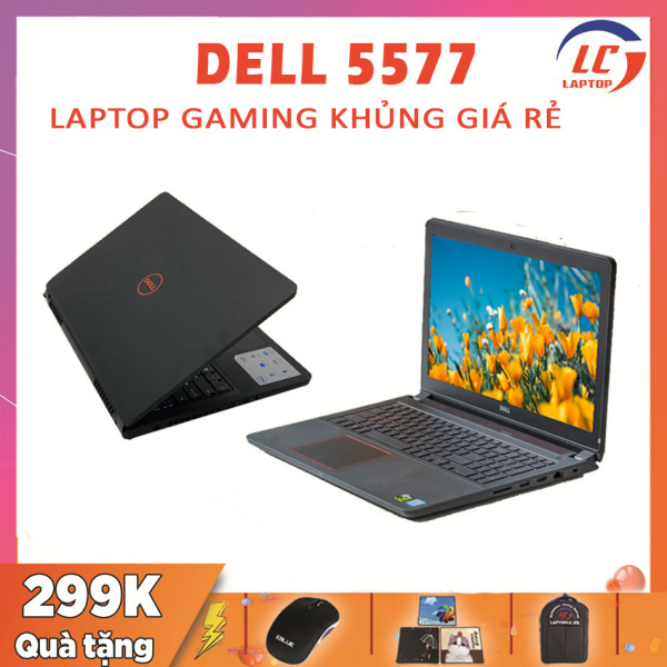 Bảng giá [Trả góp 0%]Laptop Giá Rẻ Dell Inspiron 5577 i7-7700HQ VGA Nvidia GTX 1050-4G Màn 15.6 Full HD Laptop Dell Laptop i7 Laptop Chơi Game Phong Vũ