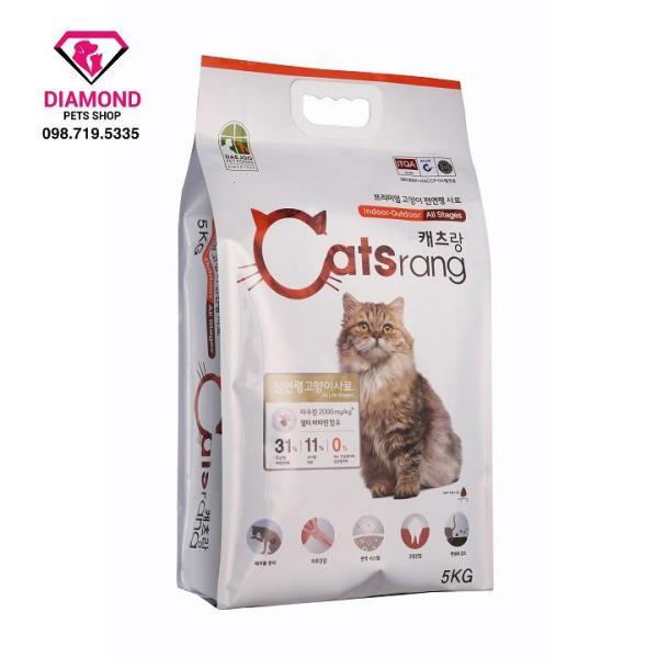 [5kg] Thức ăn hạt cho mèo mọi lứa tuổi CATSRANG