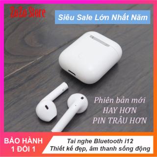 [TRỢ GIÁ] Tai nghe Inpod i12 TWS Bluetooth 5.0 cho iPhone và Android kèm Hộp sạc - Hàng nhập khẩu thumbnail