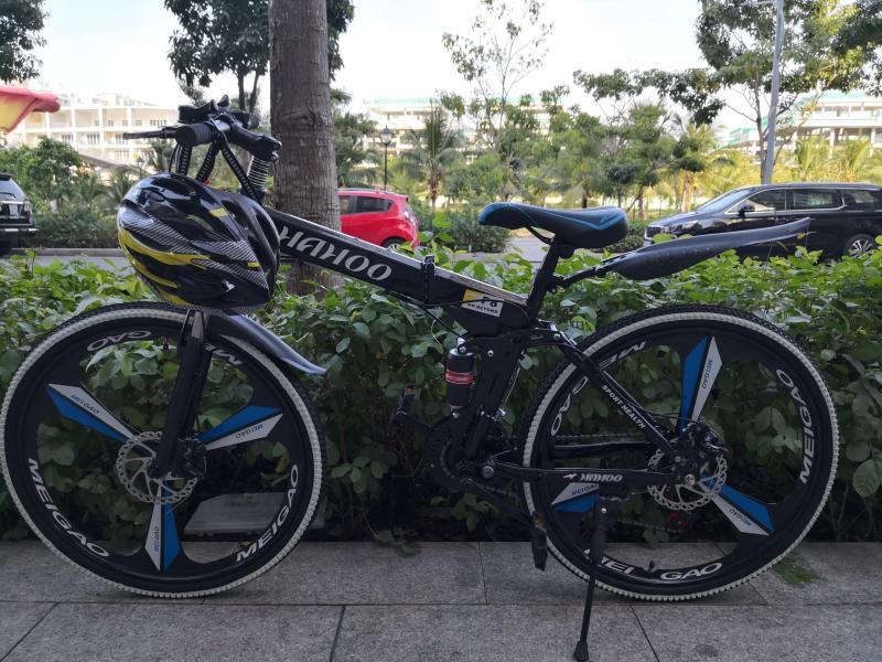 Mua [Senda28] Xe đạp địa hình gấp HaHoo - Bánh mâm đúc