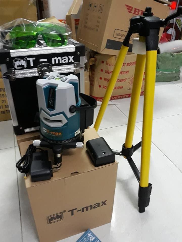 Máy cân mực lazer 5 tia xanh Tmax - T51