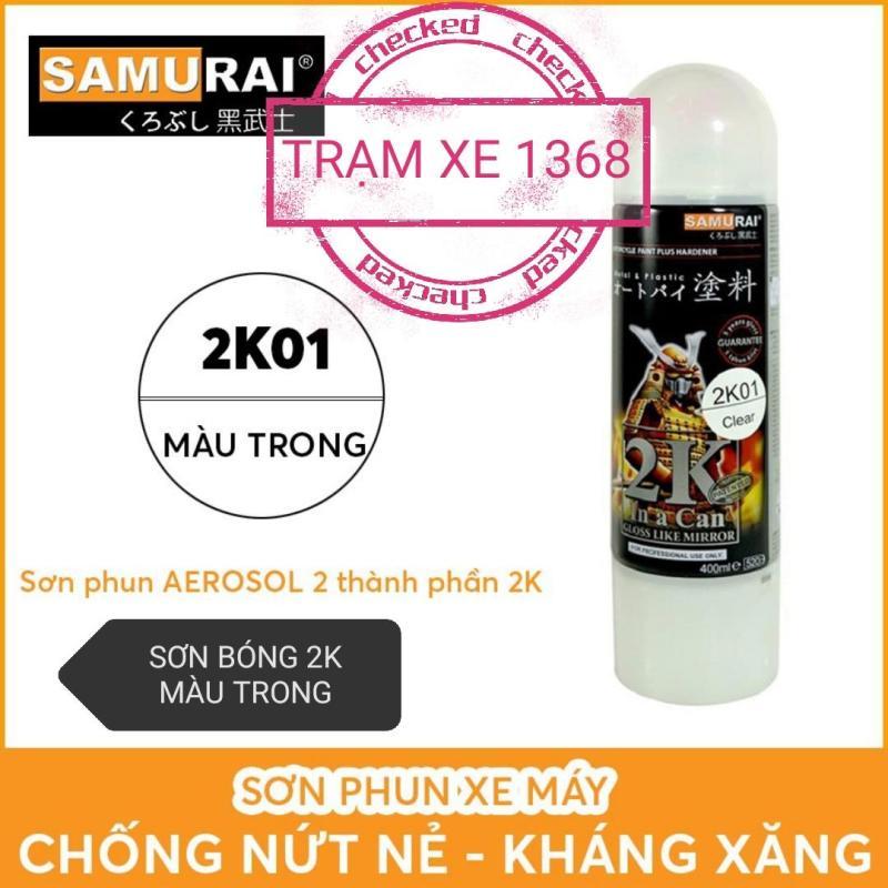 SƠN SAMURAI PHỦ BÓNG 2K TRONG SUÔT