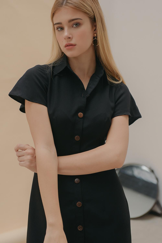 Đầm Somi Tay Loe - Lilya 01DRE2263 Cùng Giá Khuyến Mãi Hot