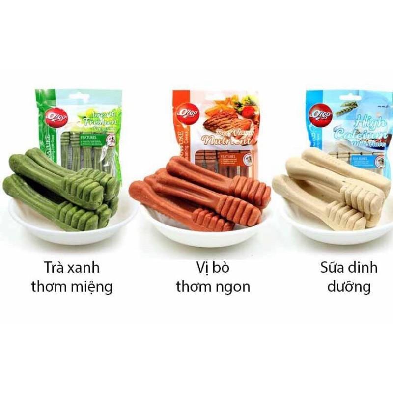 Snack Cho Chó Bàn Chải Xương Gặm Sạch Răng Chó Orgo 90G