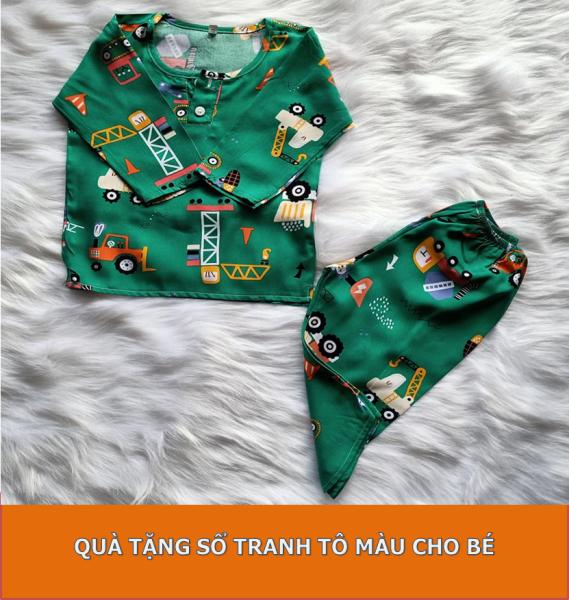 [TOLE LOẠI 1, SIZE 11-35 KG] Bộ quần áo dài tay bé trai