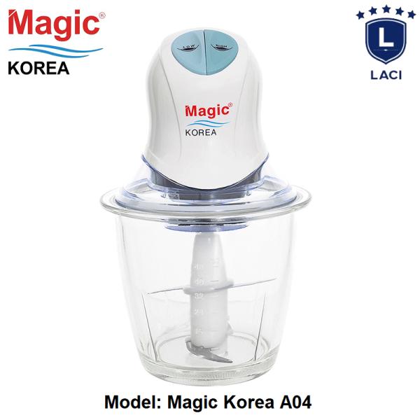 Máy Xay Thịt Kết Hợp Xay Sinh Tố Magic Korea A04 | Xay Nhuyễn Mọi Thực Phẩm | Bảo hành chính hãng 12 tháng tại điện máy laci