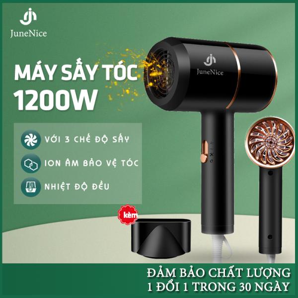 Máy sấy tóc đa năng JN, 2 chế độ sấy, ion âm bảo vệ tóc, công suất 1200W, dễ sử dụng, hai màu lựa chọn, bảo hành 1 đổi 1