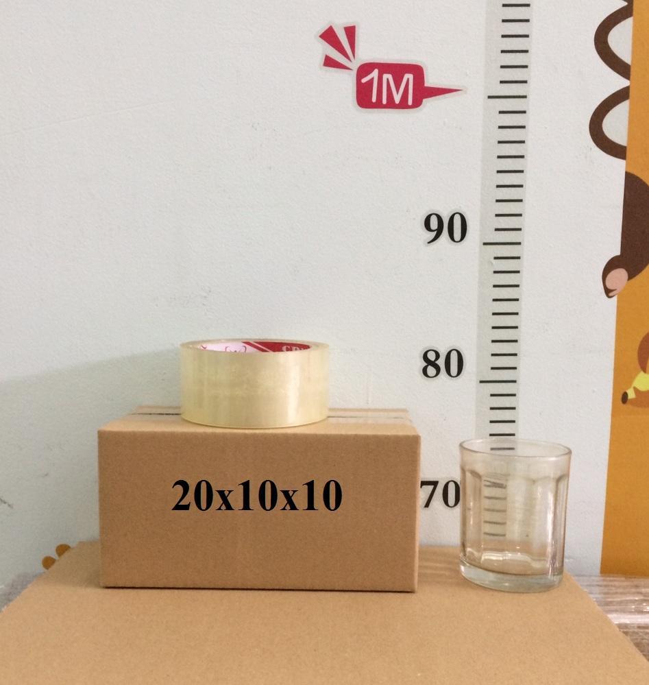 Bộ 50 Hộp Carton Kt (20 X 10 X 10) Dùng đóng Gói Hàng By Thungcartongiare.