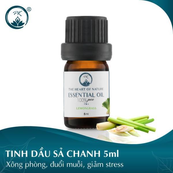 [GIÁ DÙNG THỬ] Tinh dầu Sả Chanh PK 5ml - thơm phòng, đuổi muỗi, khử mùi