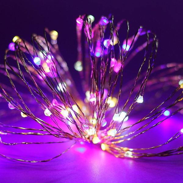[Tặng Pin] Dây Đèn Led Đom Đóm Chipsbling Fairy Lights Dài 2m, 5m, 10m - Dùng Pin