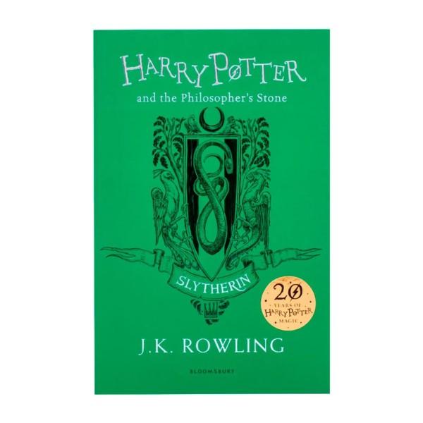 Sách Ngoại văn: Harry Potter và Hòn đá phù thủy – Slytherin Edition (Nhà Slytherin - Phiên bản Tiếng Anh)