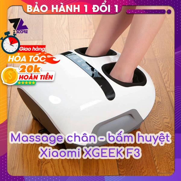 Máy massage bấm huyệt Xiaomi XGEEK F3 - mát xa chân 360 độ - Hướng dẫn Tiếng Việt - Bảo hành đổi mới