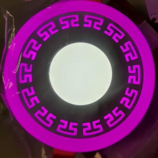 Đèn Âm Trần Viền Hoa Văn - Đèn Âm Trần viền màu 3 chế độ sáng thay khi bật tắt thích hợp trang trí trần nhà- Bảo hành đổi mới 2 năm
