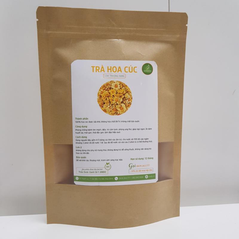 Trà hoa cúc sấy khô thượng hạng gói 100gr - TM105 cao cấp